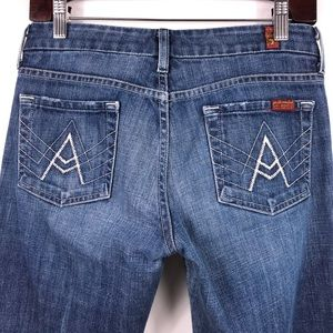 """7 For All Mankind """"A Pocket """" Jeans"""